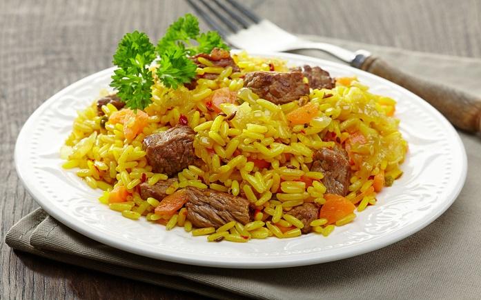как сварить рис для плова